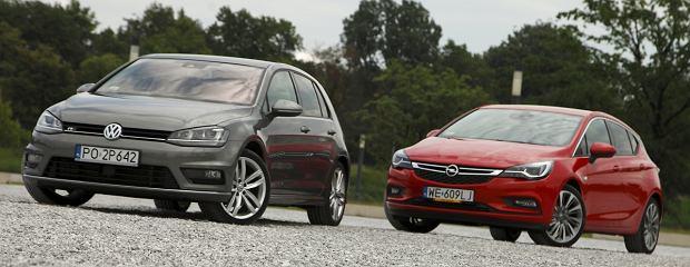 Opel Astra kontra Volkswagen Golf - porównanie
