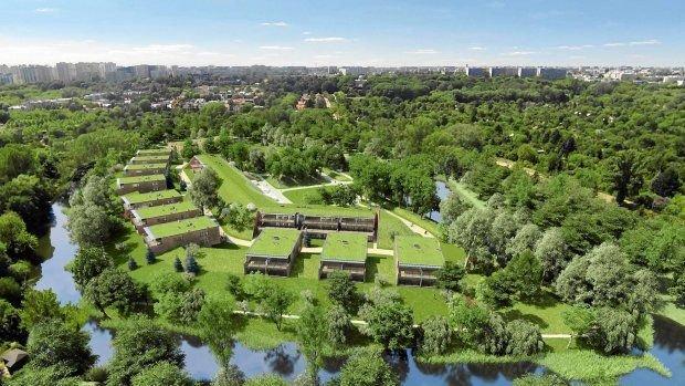 W forcie na Mokotowie powstanie luksusowe osiedle apartamentów