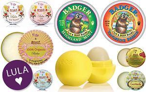 organiczne kosmetyki, ekologiczne balsamy do ust, błyszczyki, naturalne kosmetyki, kosmetyki z atestem