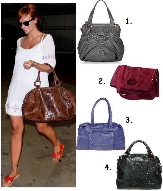 Najmodniejsze torebki, na zdjęciu Aslee Simspon
