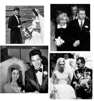 Jackie Kennedy, Marilyn Monroe, Priscilla Presley, Grace Kelly (East News)