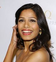 Mandatory Credit: Photo by Picture Perfect / Rex Features ( 853764p )  Freida Pinto  'Oscar Wilde: Honoring The Irish In Film' Awards, Los Angeles, America - 19 Feb 2009