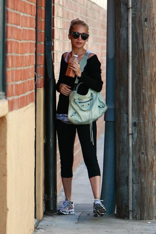 Nicole Richie idzie na siłownię