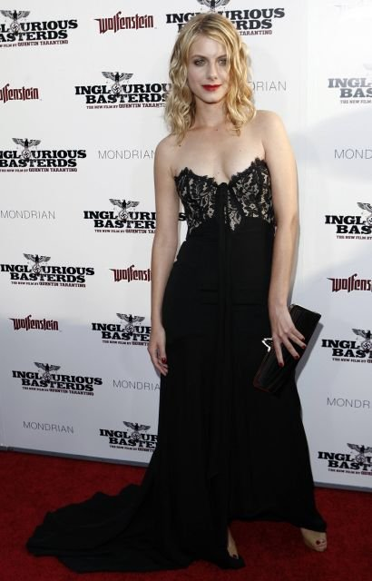 Actress Melanie Laurent arrives at the premiere of