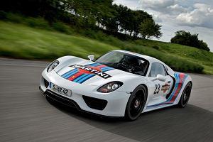 Porsche 918 Spyder w barwach Martini Racing