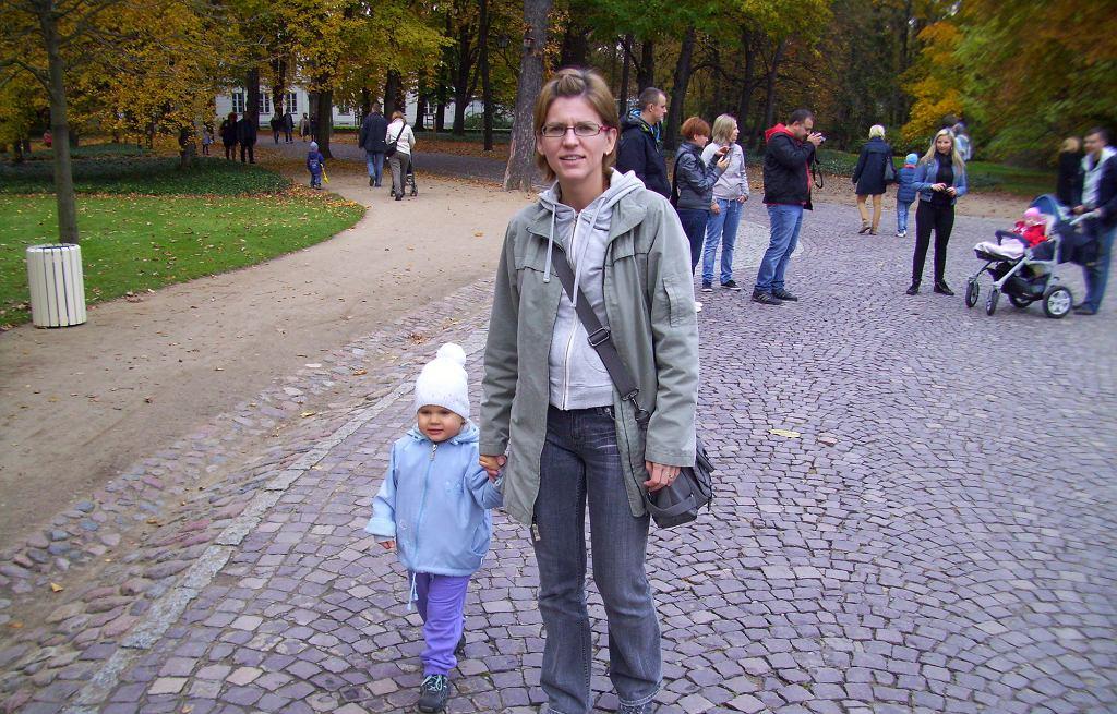 Agnieszka Zielińska z córką Ewą (fot. archiwum prywatne)