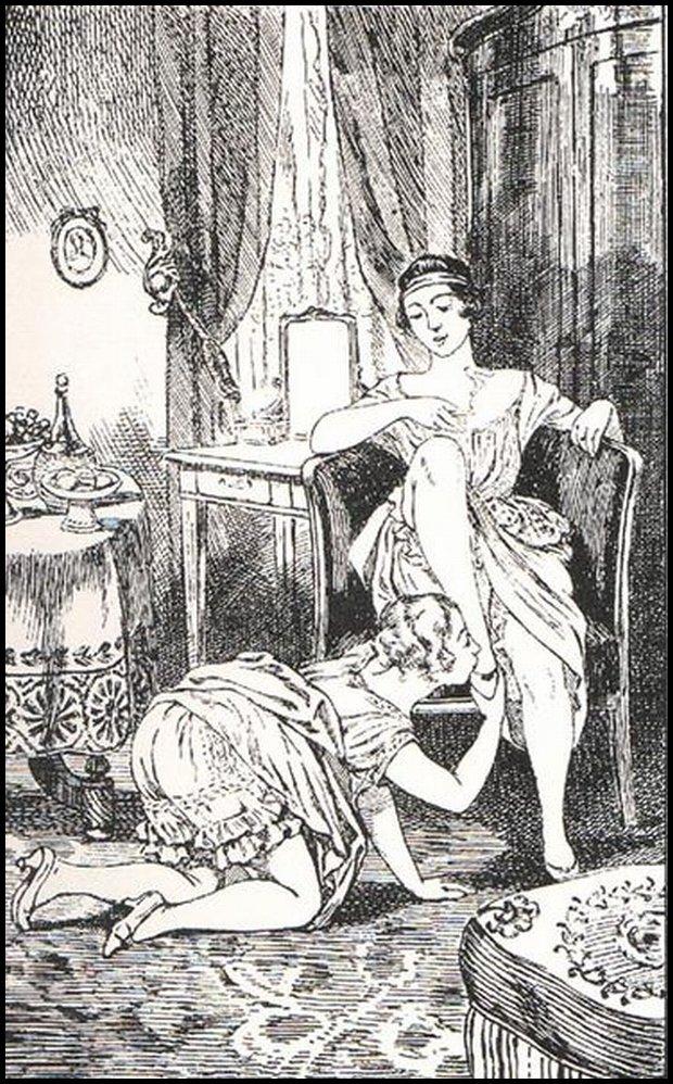 No nóżek padam, by polizać czule... / Martin vanMaele - La Comtesse au fouet