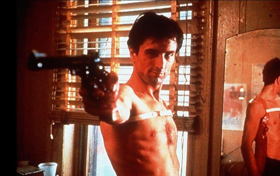 De Niro jako Travis Bickle / kadr z filmu