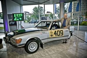 Mercedes-Benz 450 SLC wciąż tworzy historię