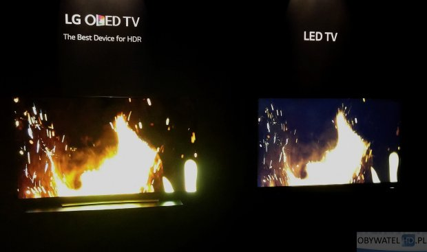 OLED vs LCD LED
