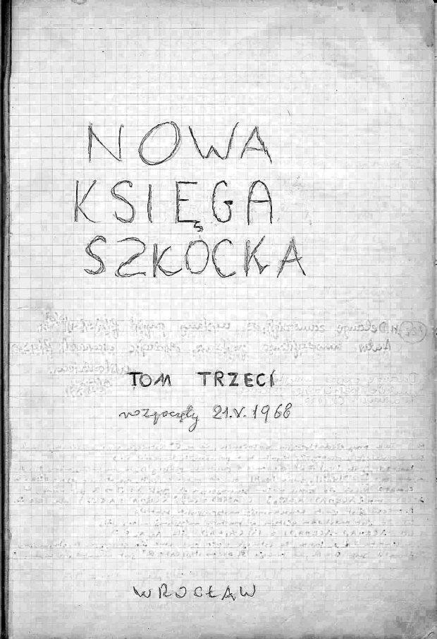 Słynna Księga Szkocka została wywieziona ze Lwowa przez Łucję Banachową i trafiła do Międzynarodowego Centrum Badań Matematycznych im. Stefana Banacha w Warszawie. Ale we Wrocławiu jest Nowa Księga Szkocka