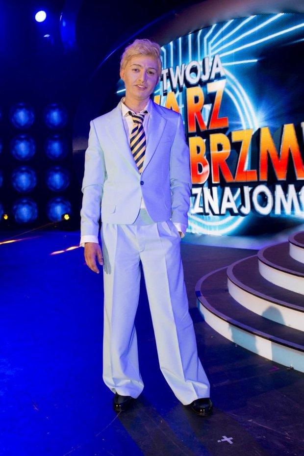 Marcin Przybylski jako David Bowie