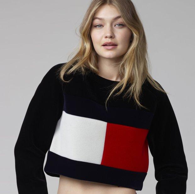Gigi Hadid nową ambasadorką marki Tommy Hilfiger