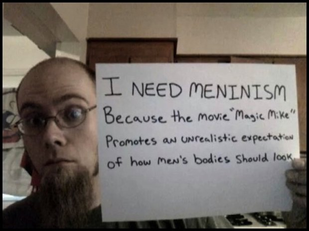 Zdjęcie z profilu Meninist Twitter