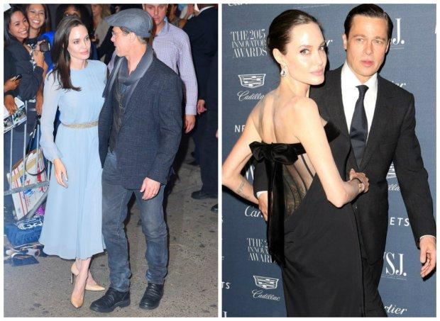 Angelina Jolie i Brad Pitt, 2015