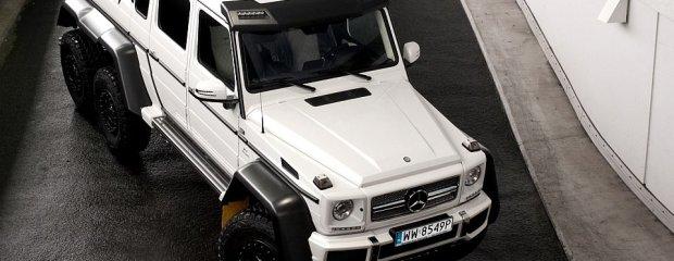 Mercedes G63 AMG 6x6 | Pierwsza jazda | Kilimandżaro