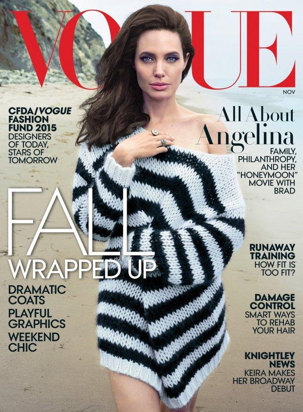 Angelina Jolie, Vogue 2015
