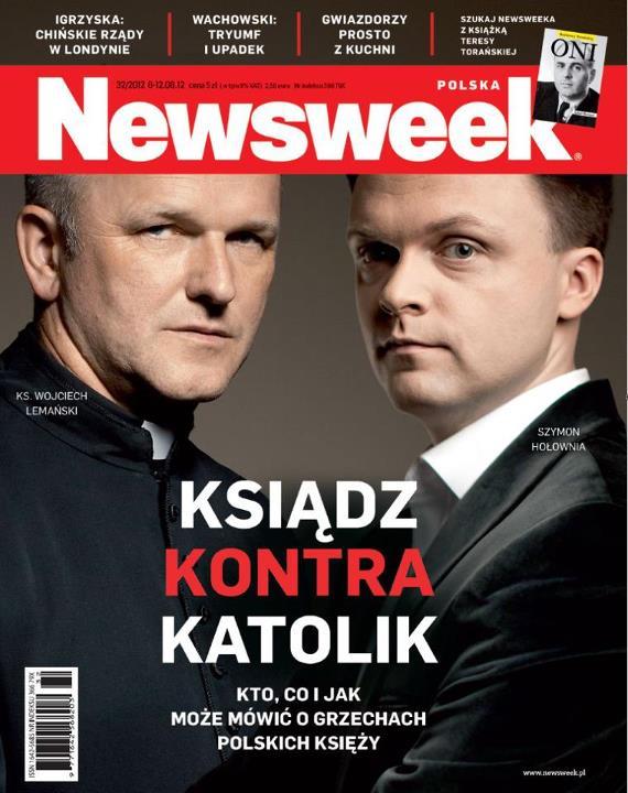 Newsweek, Szymon Hołownia, Tomasz Lis