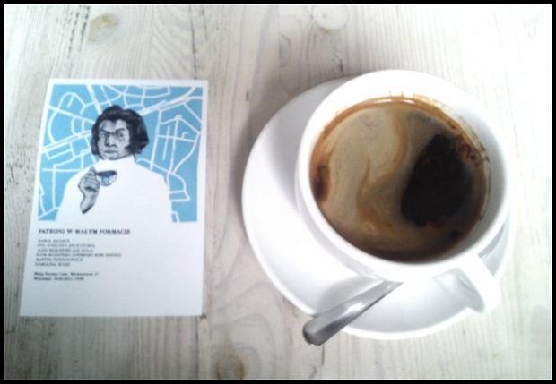 Na kawce z Mickiewiczem/fot. Sony Xperia Z