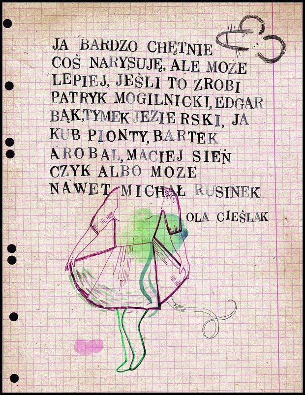 Ilustracja Ola Cieslak