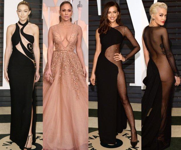Seksowne stroje na Oscarach 2015