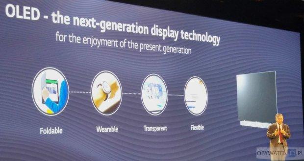 OLED LG przyszłość