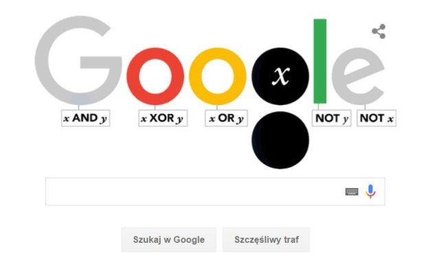 George Boole - doodle