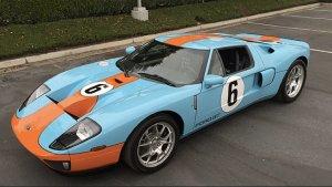 Mecum Auctions | Rekordowe ceny Fordów GT