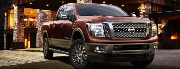 Salon Detroit 2015   Nissan Titan XD   Tym razem Diesel
