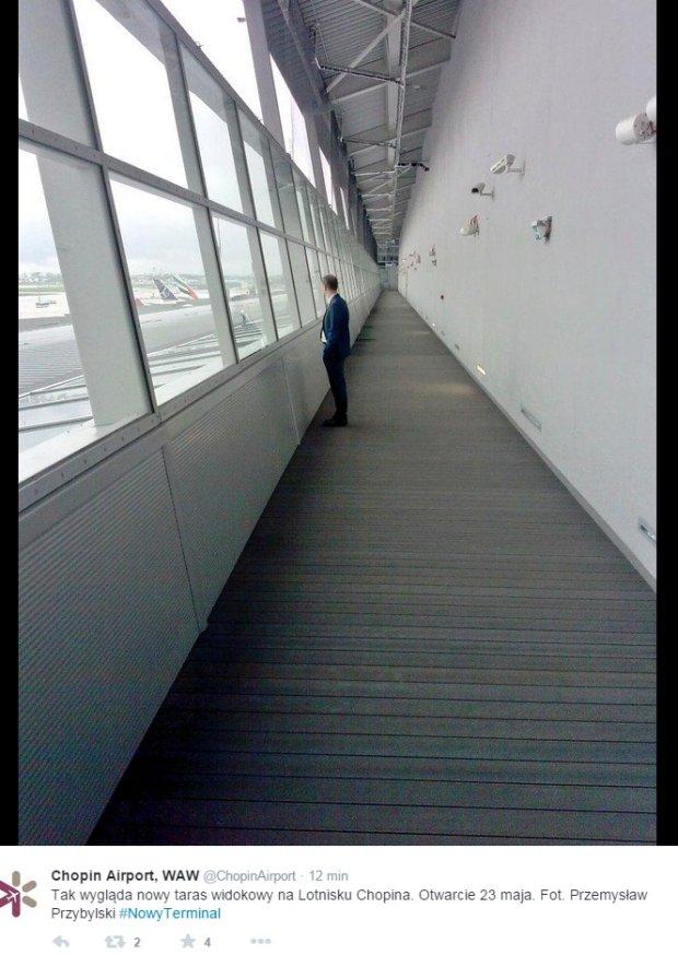 Taras widokowy lotnisko Chopina