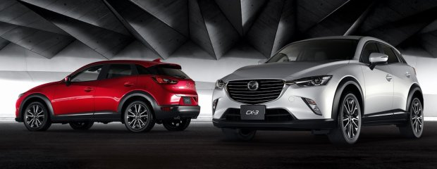 Salon Los Angeles 2014   Mazda CX-3   Crossover z japońską duszą