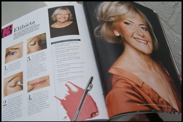 ...ale makijaż kobiety dojrzałej to już wyzwanie / fot. Marta Lewin