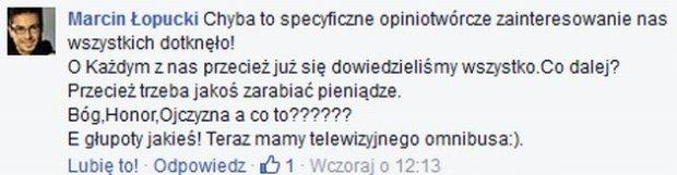 Marcin Łopucki o konflikcie Janiaka i Korwin Piotrowskiej