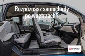 Poznasz samochód po jego wnętrzu? [QUIZ]