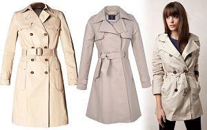klasycznie, trencz, płaszcz