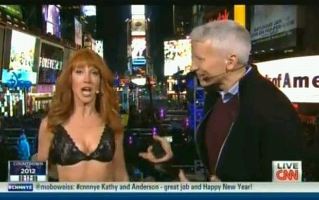 Kathy Griffin i Anderson Cooper