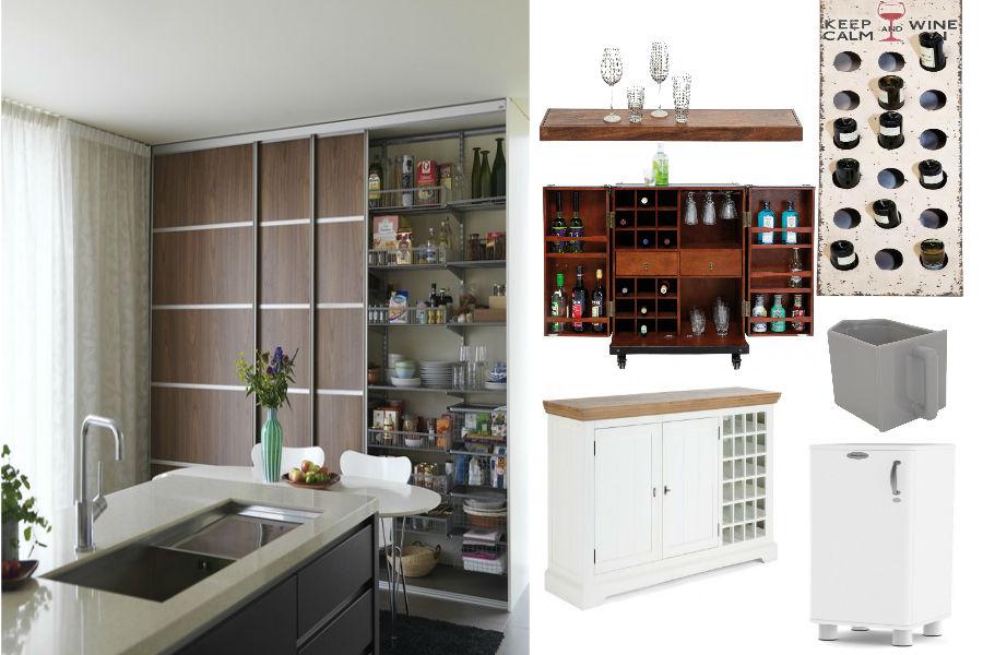 Utrzymanie porządku w kuchni - szafki, szuflady, półki