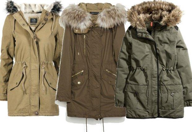 Od lewej: C&A 219 zł, Zara 599 zł, H&M 229 zł
