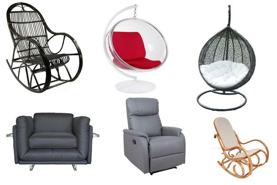 Najpiękniejsze fotele - rodzaje