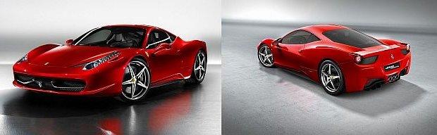 Poprzedni model Ferrari 458 Italia produkowany był od 2009 roku