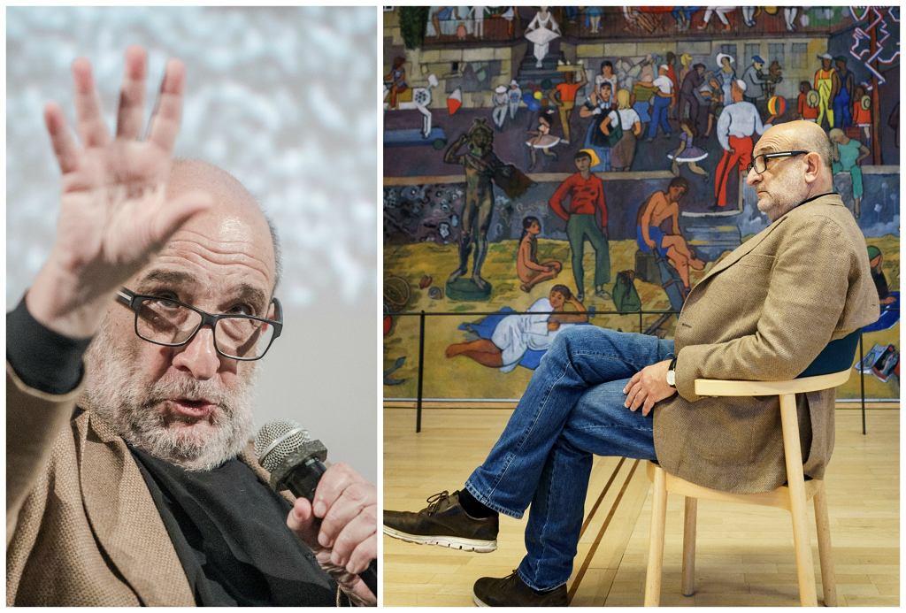 Jerzy Sarnecki podczas spotkania w Muzeum Historii Żydów Polskich POLIN (fot. M. Starowieyska / J. Helander)