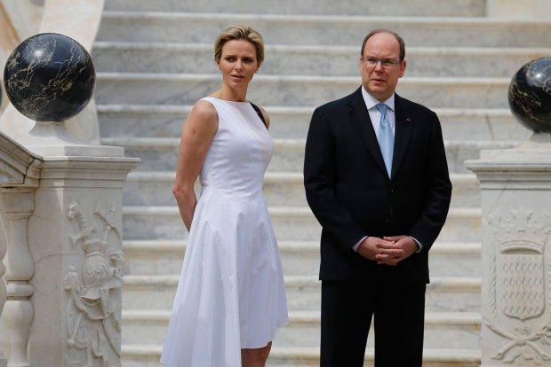 Książę Albert i księżna Charlene