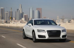 Salon Los Angeles 2014 | Audi A7 Sportback h-tron quattro | Koncept na wodór