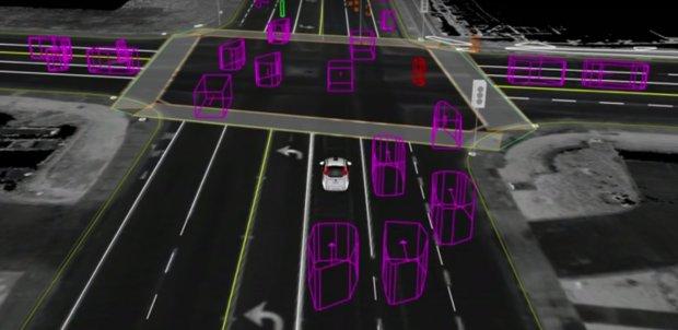 Samochód Google'a | Jak autonomiczne auto widzi świat?