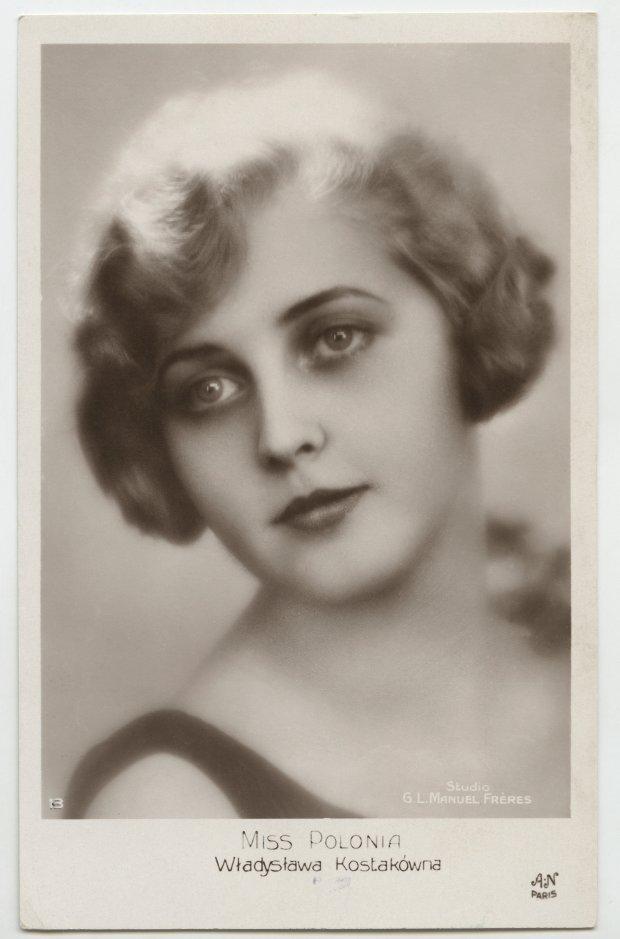 Władyslawa Kostakówna, pierwsza Polska Miss Polonia 1929