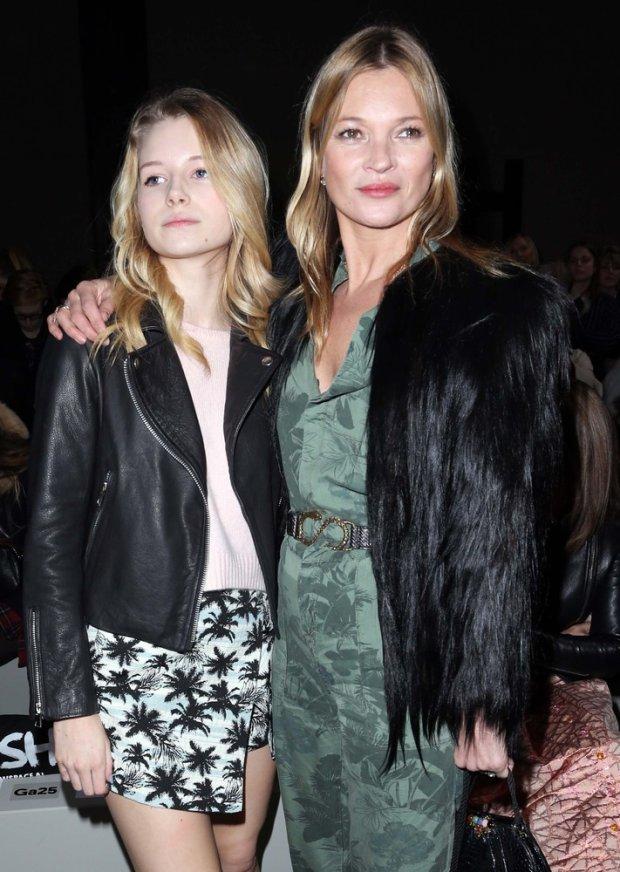 Lottie Moss i Kate Moss