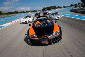 Wszystkie wersje Bugatti Veyrona
