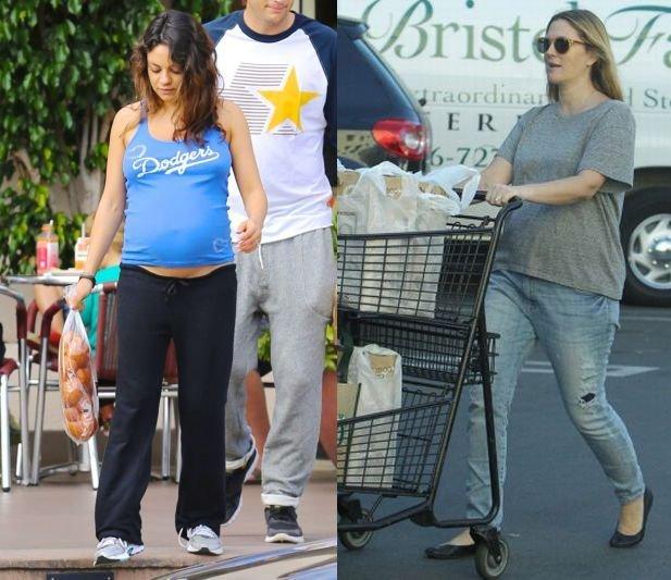 Mila Kunis, Drew Barrymore