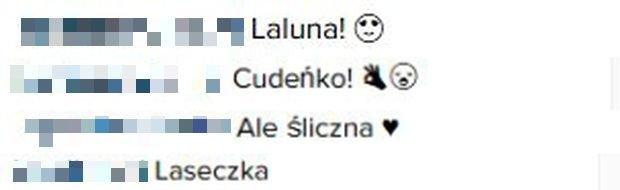Komentarze na profilu Pauli Łopuckiej