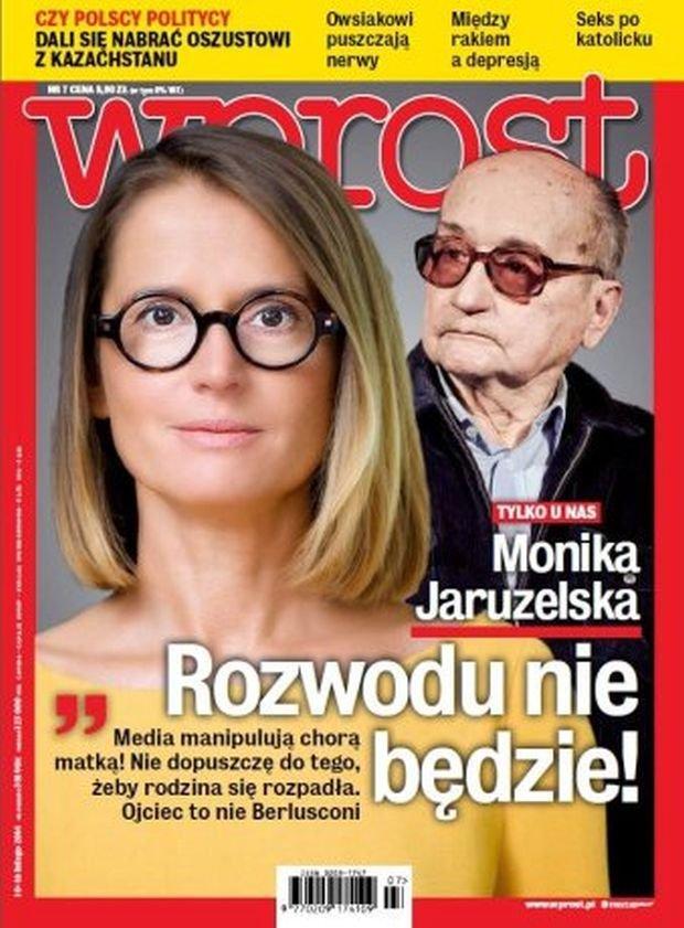 Monika Jaruzelska, Wojciech Jaruzelski